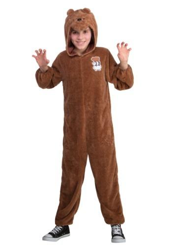 We Bare Bears Grizz Bear Child Costume