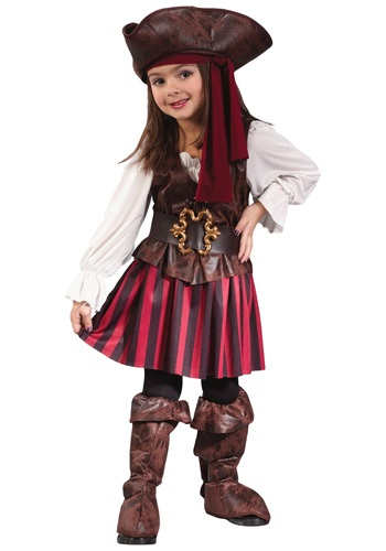 Caribbean Toddler Pirate Costume For Girls