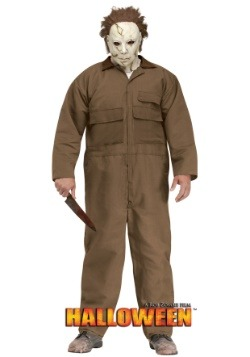 Mens Rob Zombie Halloween Michael Myers Plus Size Costume