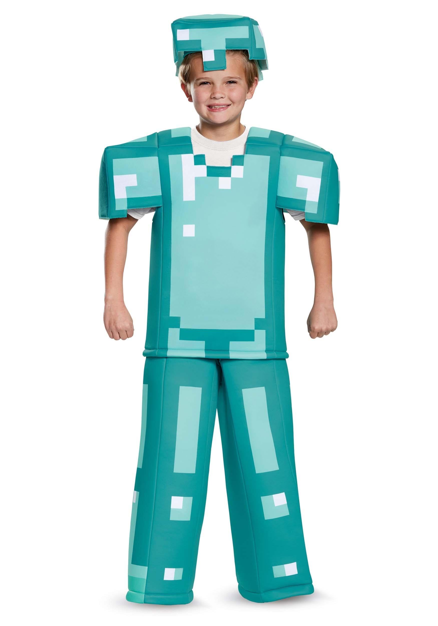 Prestige Minecraft Armor Costume for Children