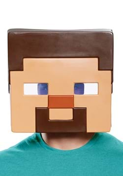 Minecraft Adult Steve Half Mask
