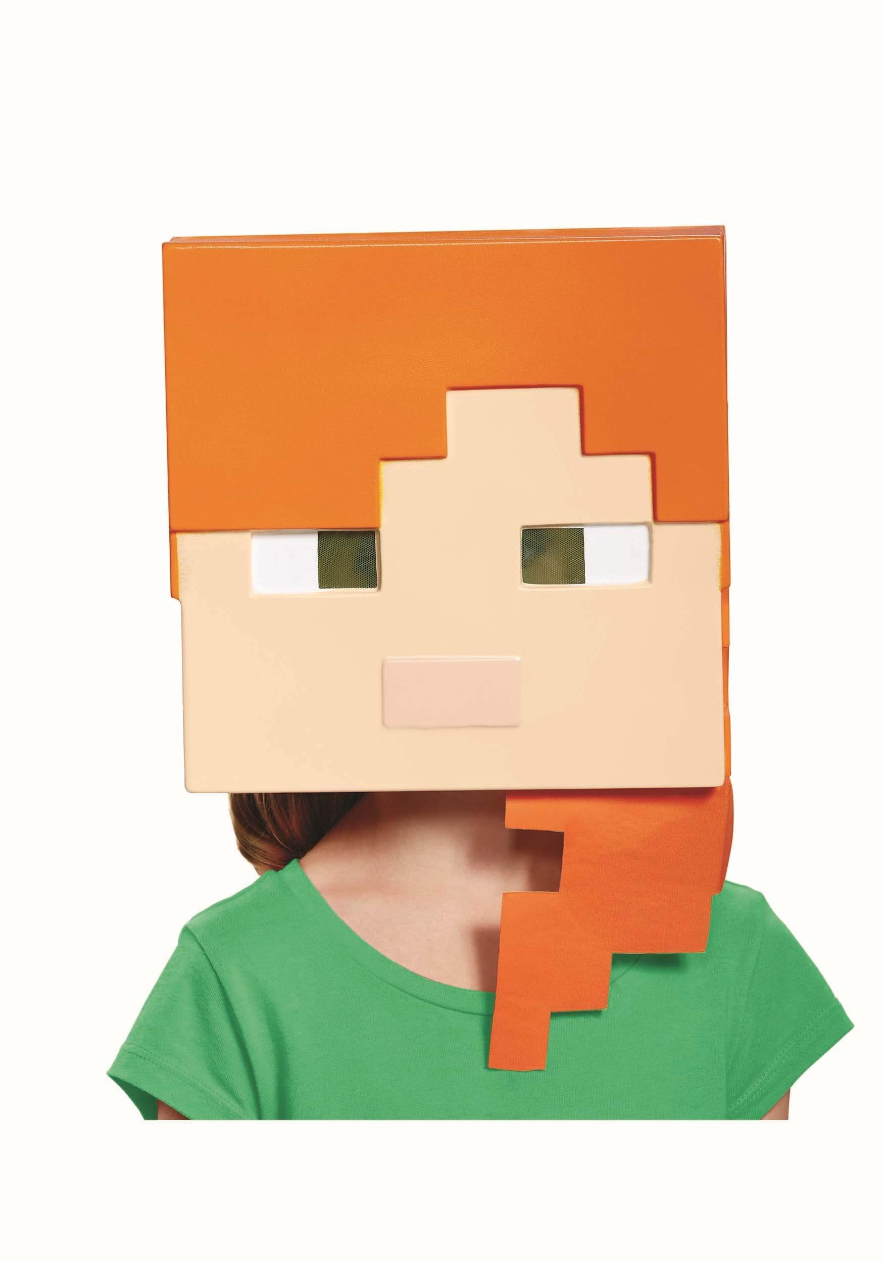 Minecraft Alex Mask for Kids