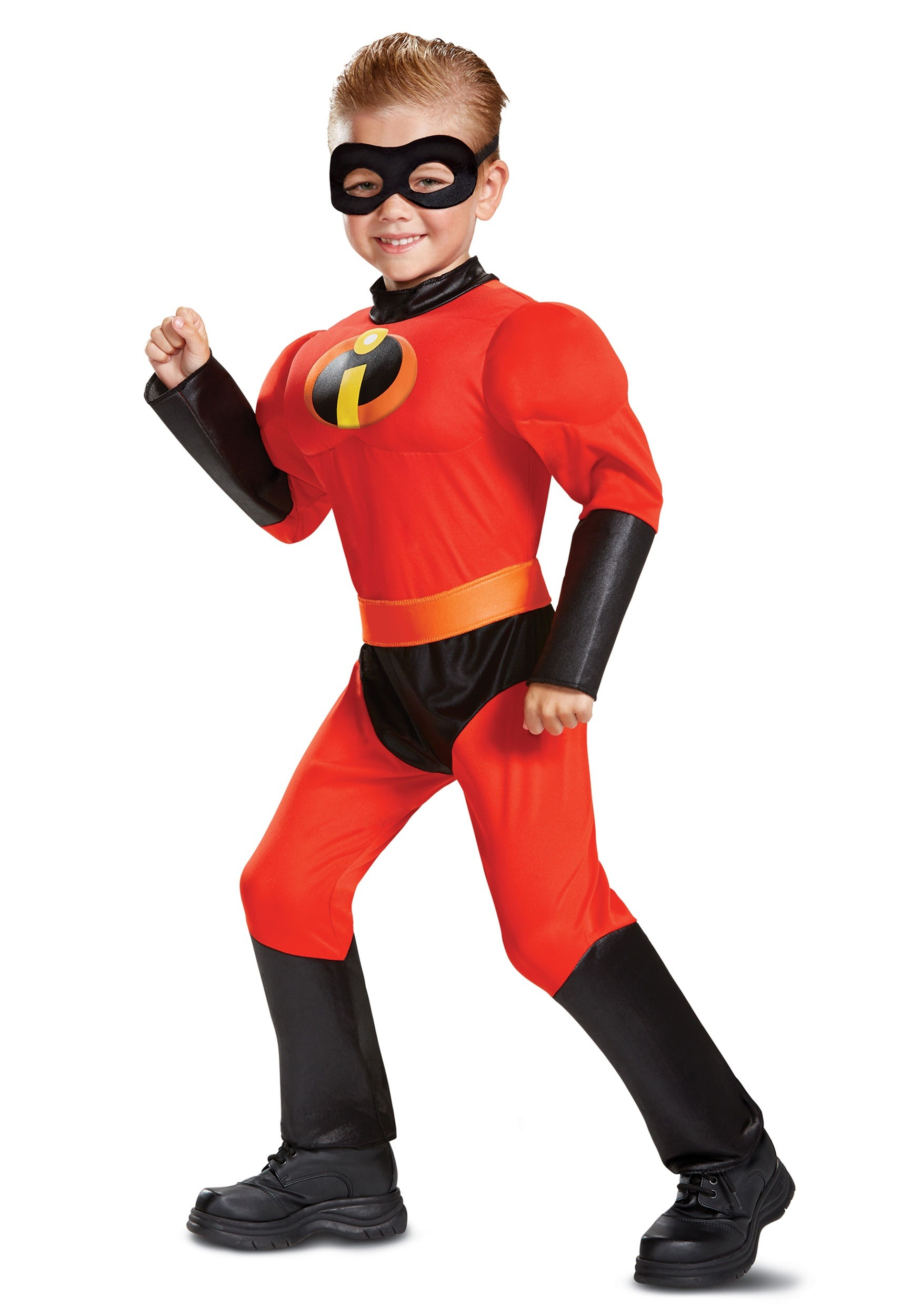 Disney Incredibles 2 Classic Dash Muscle Costume for Toddlers