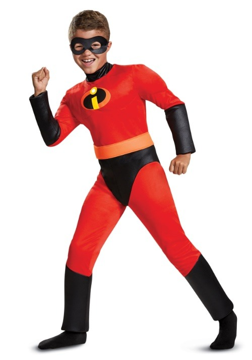 Incredibles 2 Classic Boys Dash Muscle Costume