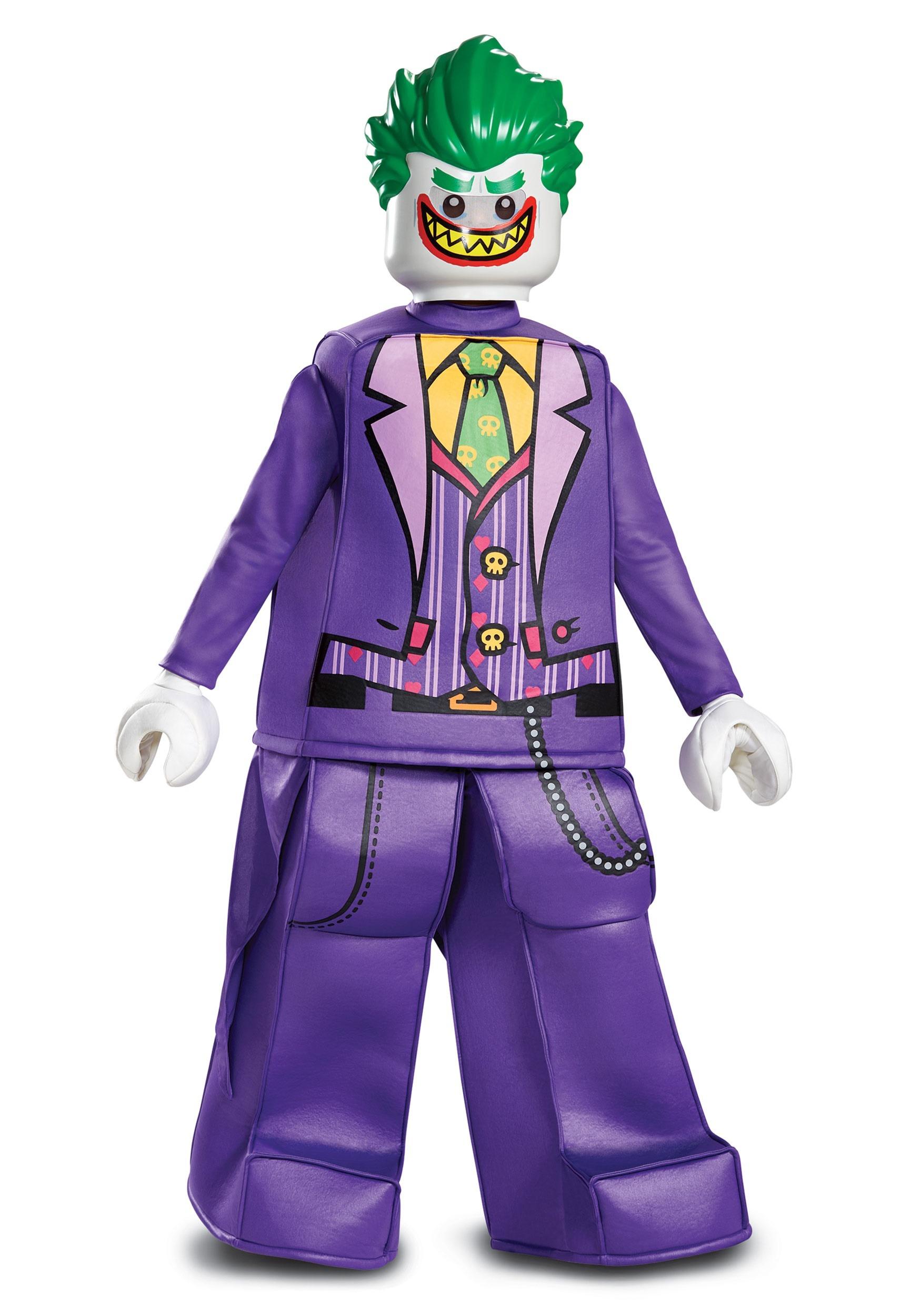 Lego Batman Prestige Child Joker Costume