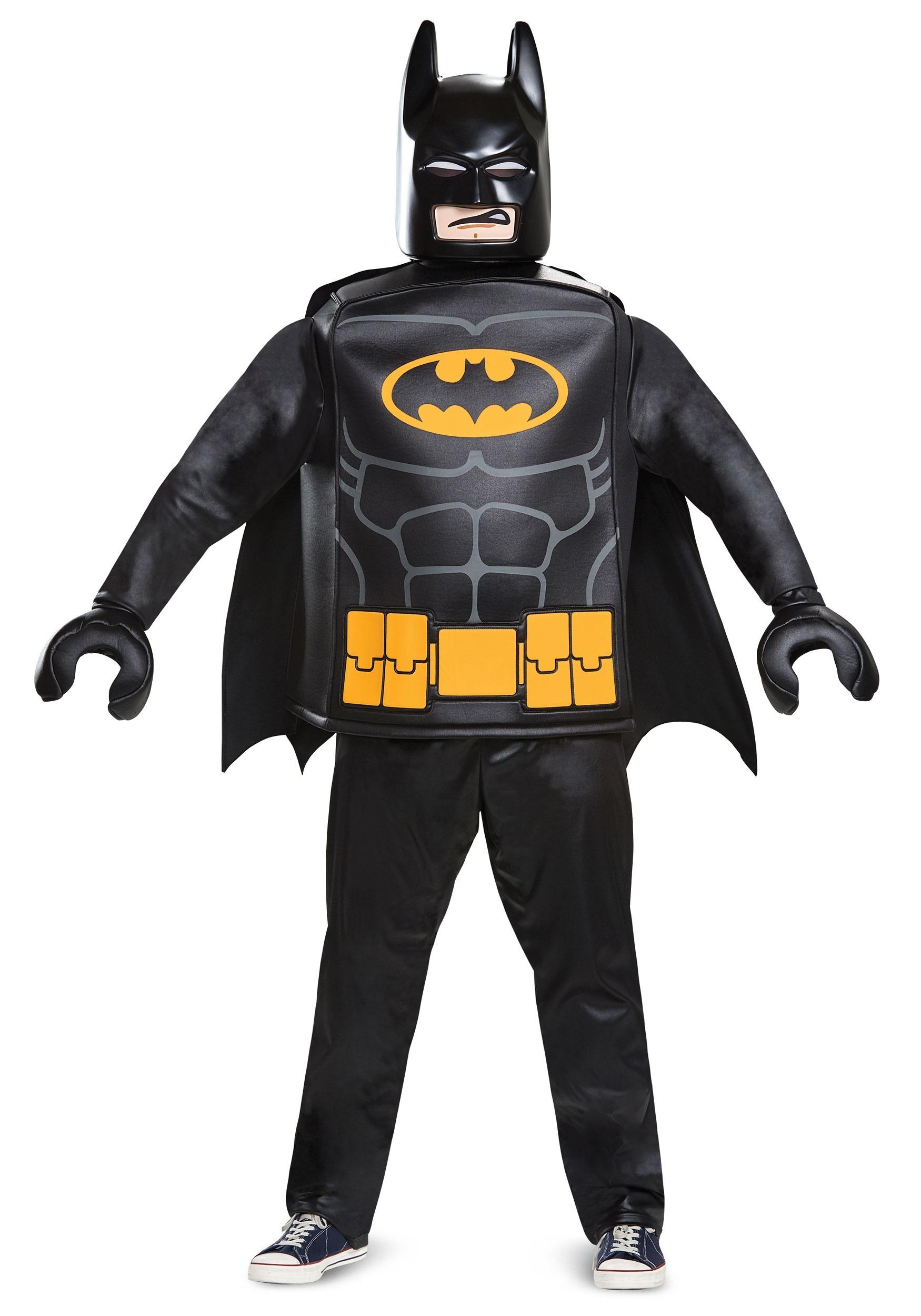 Adult Lego Batman Deluxe Batman Costume