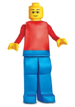 Lego Child Prestige Lego Guy Costume
