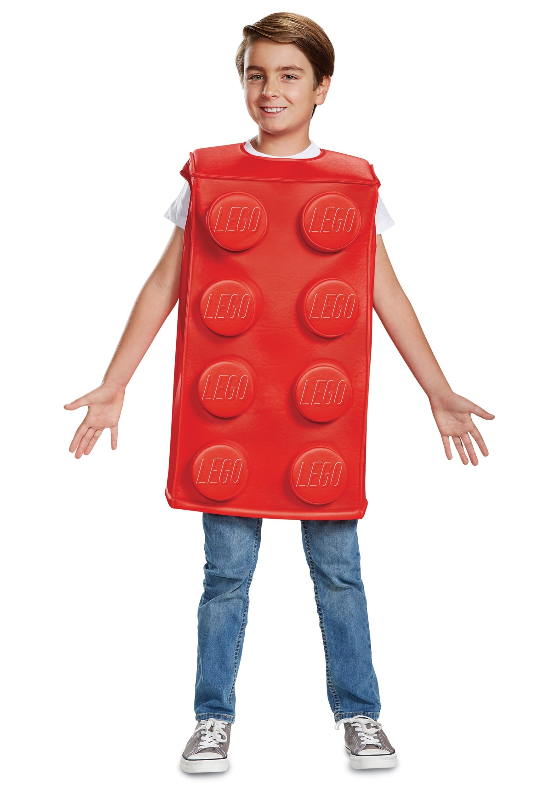 Child Lego Red Brick Costume