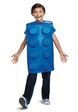 Lego Child Blue Brick Costume