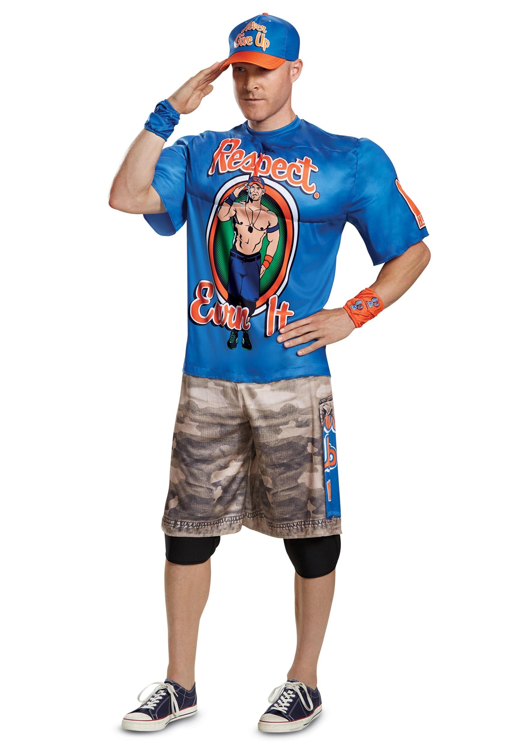 WWE John Cena Muscle Costume for Men