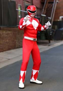 Power Rangers Adult Red Ranger Muscle Costume