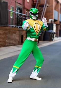 Adult Power Rangers Green Ranger Costume Update