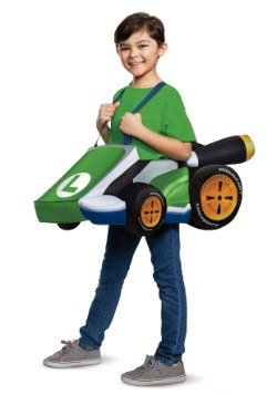 Super Mario Kart Child Luigi Ride In