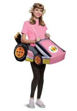 Super Mario Kart Adult Princess Peach Ride In