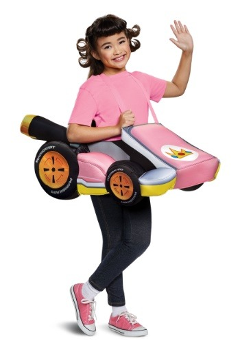 Super Mario Kart Child Princess Peach Ride In