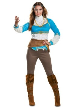Women's Breath of the Wild Zelda Costume