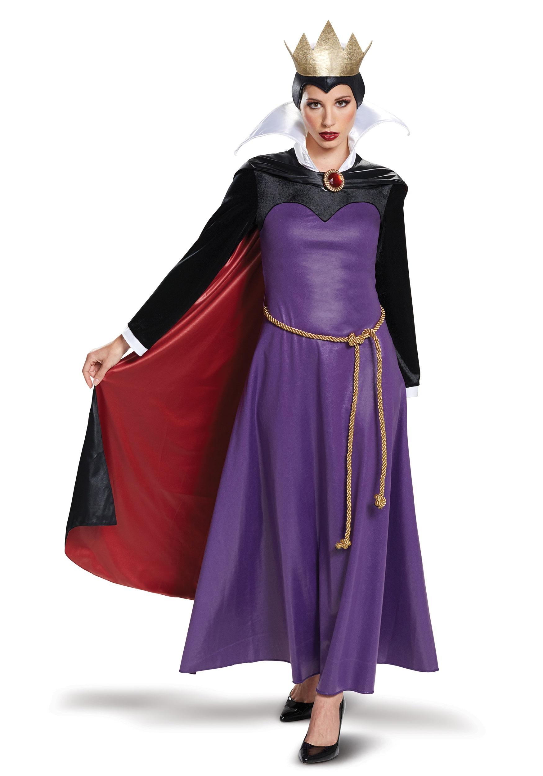 Deluxe Women's Evil Queen Costume