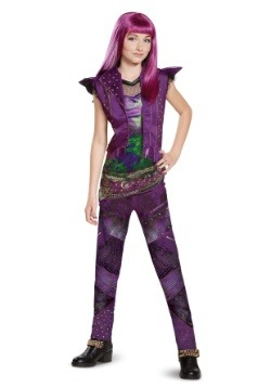 Descendants 2 Girls Classic Mal Costume