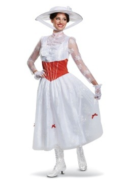 Women's Deluxe Mary Poppins Costume