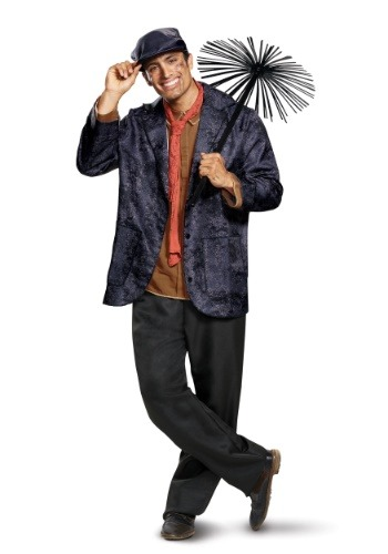Mary Poppins Deluxe Adult Bert Costume