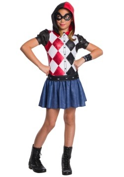 Girls Harley Quinn Costume