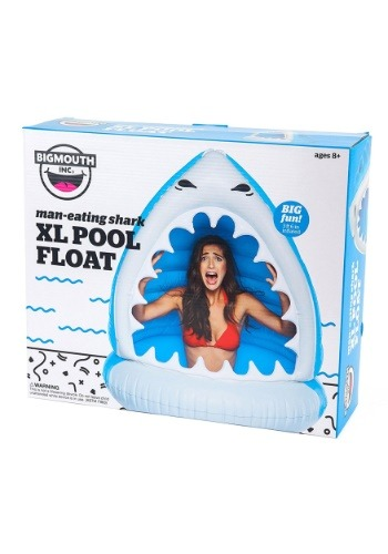 Giant Man-Eating Shark XL Pool Float
