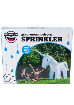 Giant Unicorn Inflatable Yard Sprinkler