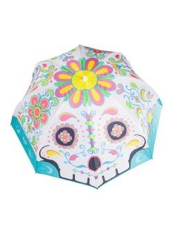 Sugar Skull Beach Umbrella 2