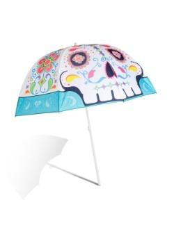 Sugar Skull Beach Umbrella 3