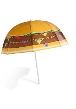 Cheeseburger Beach Umbrella 3