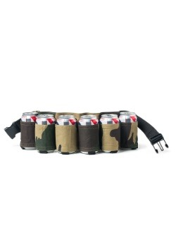 The Beer Belt: Camo Six Pack Holster