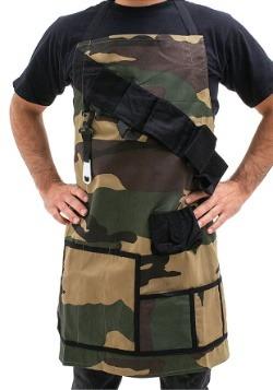 Grill Sergeant Camo Utility BBQ Apron