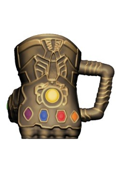 Marvel Infinity Wars Thanos Gauntlet Sculpted Ceramic Mug