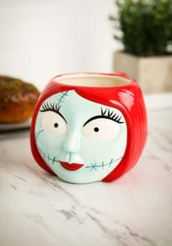 Nightmare Before Christmas Sally Sculpted Ceramic Mug