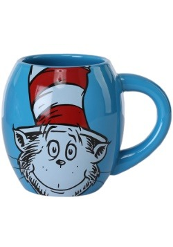 Dr. Seuss Cat in the Hat Oval Ceramic Mug