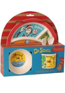 Dr. Seuss 5 Piece Bamboo Meal Time Set