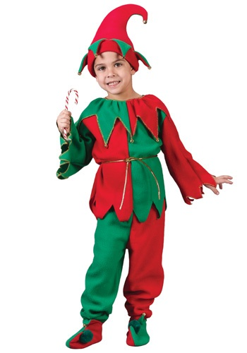 Santa's Child Elf Costume