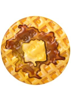 """Buttermilk Waffle 59"""" Pool Float"""