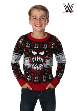Child WWE Finn Bálor Ugly Christmas Sweater alt1