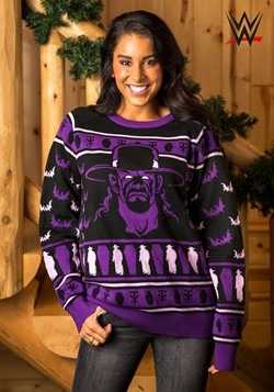 Adult WWE Undertaker Ugly Christmas Sweater