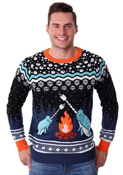 Adult Narwhal Ugly Christmas Sweater alt3