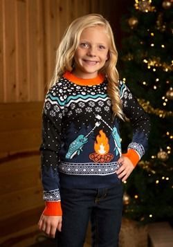 Child Narwhal Ugly Christmas Sweater alt