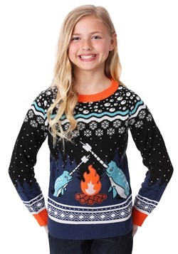 Child Narwhal Ugly Christmas Sweater alt1