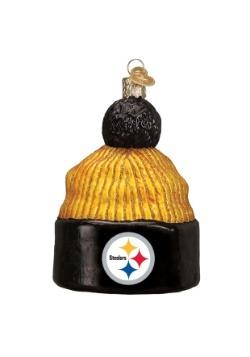 Pittsburgh Steelers Beanie Glass Ornament