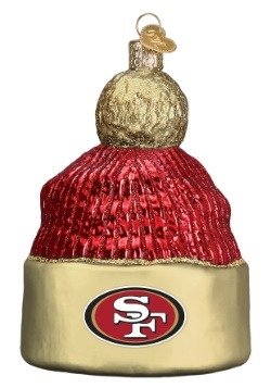 San Francisco 49ers Beanie Ornament