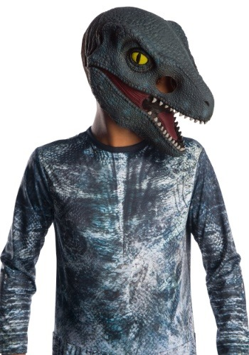 "Kid's Jurassic World 2 ""Blue"" Velociraptor 3/4 Mask"