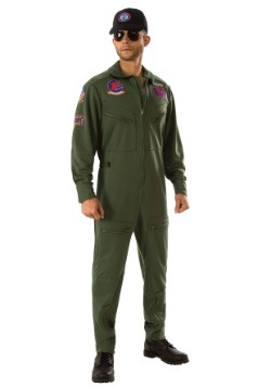 Adult Top Gun Jumpsuit Costume