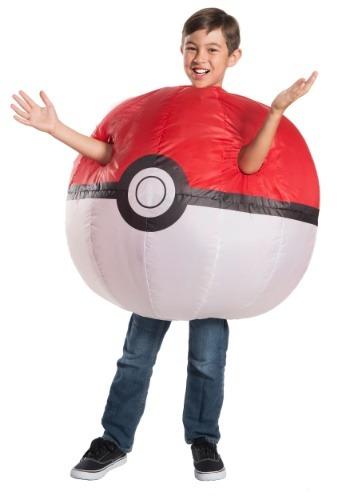 Kid's Pokemon Inflatable Pokeball Costume