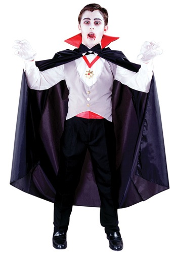 Classic Vampire Costume For Kids