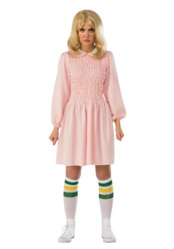 Stranger Things Adult Eleven Dress Costume